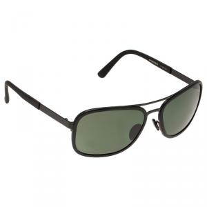 Porsche Design Black P'8553 Aviator Sunglasses