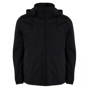 Prada Sport Black Hooded Jacket XXL