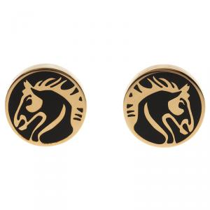 S.T. Dupont Gold-Plated Steel Limited Edition Cufflinks
