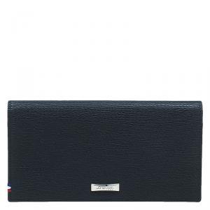 S.T. Dupont Black Leather Bi Fold Wallet