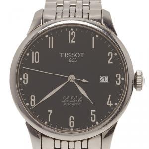 Tissot Black Stainless Steel Le LocleL164/264 Men's Wristwatch 39MM