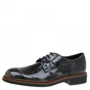 Tod's Black Leather Lace Up Derby Size 42.5