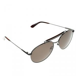 Tom Ford Brown TF 338 Colin Aviator Sunglasses