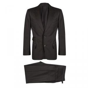 Tom Ford Brown Wool Regular Fit Suit M