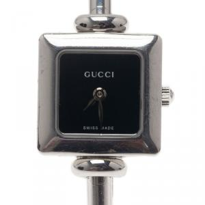Gucci White Stainless Steel 1900 L Women's Wristwatch 20MM