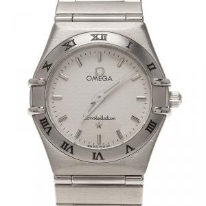 Omega Stainless Steel Constellation Wristwatch SS 24MM