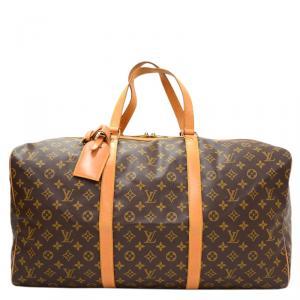 Louis Vuitton Monogram Canvas Sac Souple 55 Travel Bag
