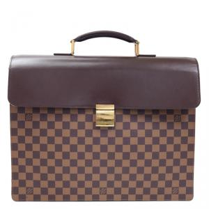 Louis Vuitton Damier Ebene Canvas Altona Briefcase GM