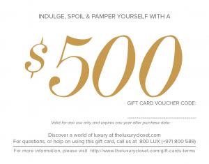 $500 Gift Card