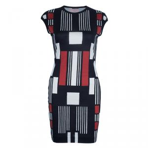 Alexander McQueen Geometric Print Dress L