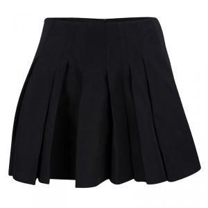 Alexander Wang Black Pleated Mini Skirt M