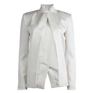 T by Alexander Wang Cream  Tailored Blazer S