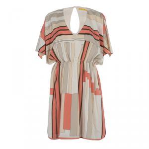 Alice + Olivia Multicolor Silk Dress M