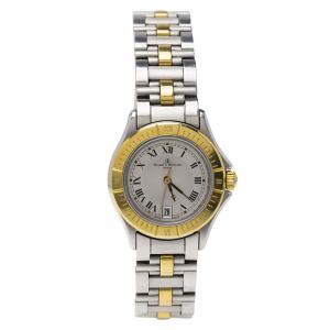 ساعة يد نسائي باوميه & ميرسيه MV045047  ستانلس ستيل ثنائي اللون مقاس 38مم