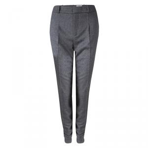 Boss By Hugo Boss Runway Edition Grey Wool Tumena Trousers S