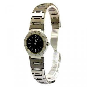 Bvlgari Black Stainless Steel Bvlgari-Bvlgari Women's Wristwatch 26MM