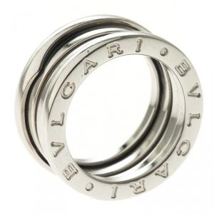 Bvlgari B.Zero1 3-Band White Gold Ring Size 49