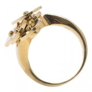 Bvlgari Cicladi Yellow Gold Ring Size 50.5
