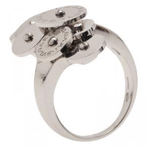 Bvlgari Cicladi White Gold Ring Size 56