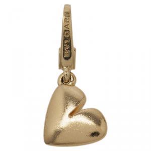 Bvlgari Heart Yellow Gold Charm