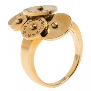 Bvlgari Cicladi Yellow Gold Ring Size 53