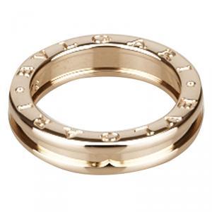 Bvlgari B.zero1 1-Band Rose Gold Ring Size 55