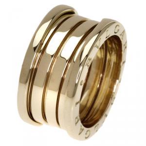 Bvlgari B.Zero1 3-Band Yellow Gold Ring Size 51