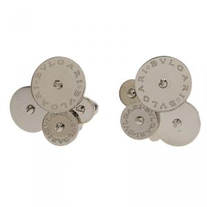 Bvlgari Cicladi White Gold Clip-on Stud Earrings