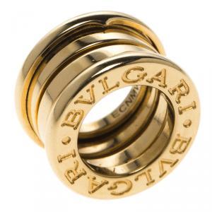 Bvlgari B.Zero1 18k Yellow Gold Band Pendant