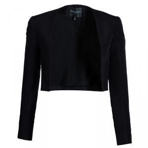 Carolina Herrera Black Cropped Jacket S