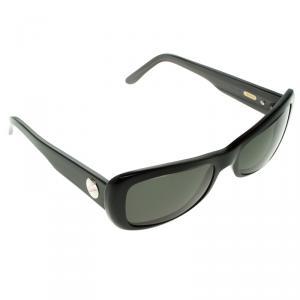 Cartier Black 135 Rectangle Sunglasses