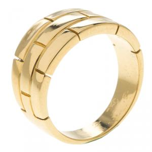Cartier Maillon Panthere Vintage Yellow Gold Band Ring