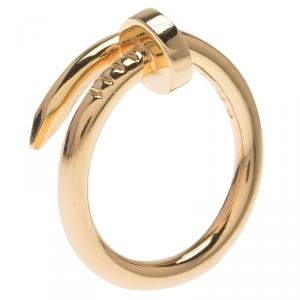 Cartier Juste Un Clou Rose Gold Ring Size 53