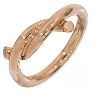 Cartier Entralaces Rose Gold Ring Size 47