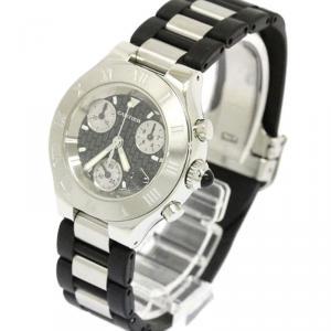 Cartier Black Stainless Steel Must 21 Women's Wristwatch 32MM