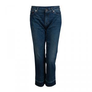 Celine Indigo Faded Denim Boot Cut Jeans M