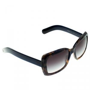 Chanel Blue Tortoise 5236 Square Sunglasses