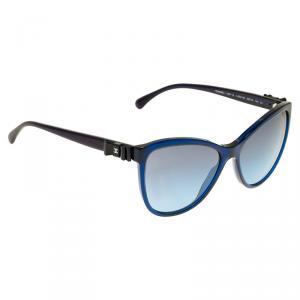 Chanel Blue 5281 Bow Detail Sunglasses