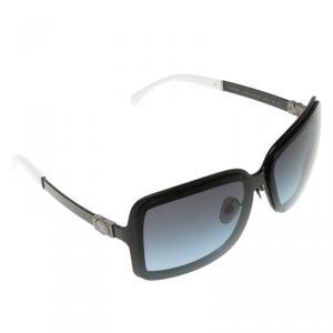 Chanel Black  4198 CC Logo Square Sunglasses