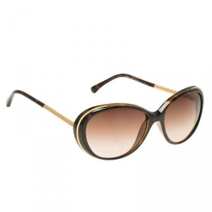 Chanel Tortoise and Gold 6037 Round Sunglasses