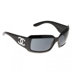 Chanel Black 5076 Rectangle Sunglasses