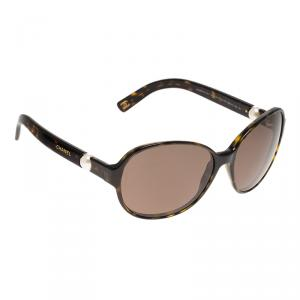 Chanel Tortoise 5131-H Perle Collection Round Sunglasses