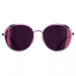Chanel Black 4202 Polarized Round Cat Eye Sunglasses