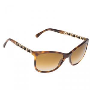 Chanel Tortoise Frame 5260-Q Wayfarer Sunglasses