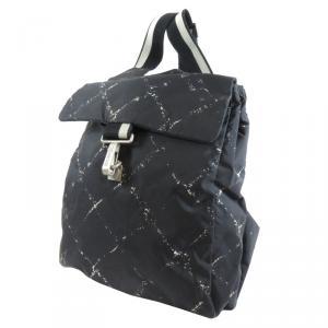 حقيبة ظهر شانيل أولد ترافيل لاين نايلون أسود