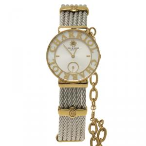 Charriol Grey Gold-Plated Stainless Steel St Tropez Women's Wristwatch 30MM
