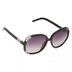 Chloe Black Myrthe Round Sunglasses