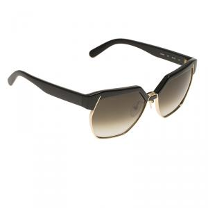 Chloe Black Dafne Geometric Metal Mix Sunglasses