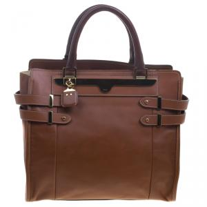 Chloe Brown Leather Tote