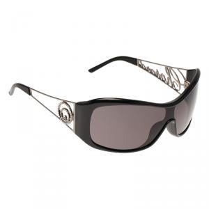 Chopard Black and Silver SCH029S Sunglasses